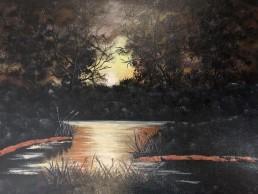 Aussie Sunset - Art print