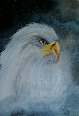 Courage - Art print (eagle)
