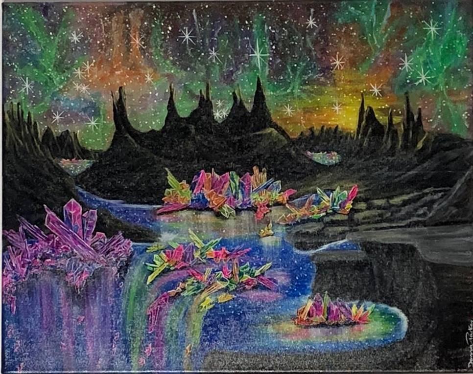 Crystal Lake - Art print