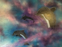 Dolphins - Art print