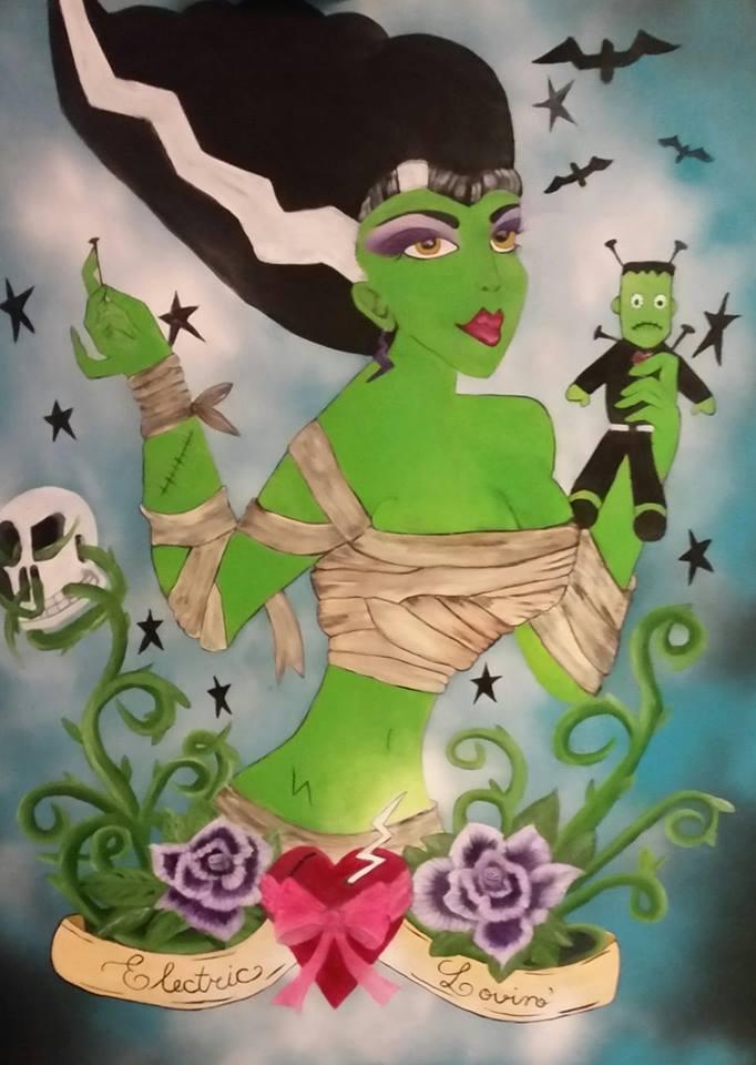 Frankie's Bride - Art print