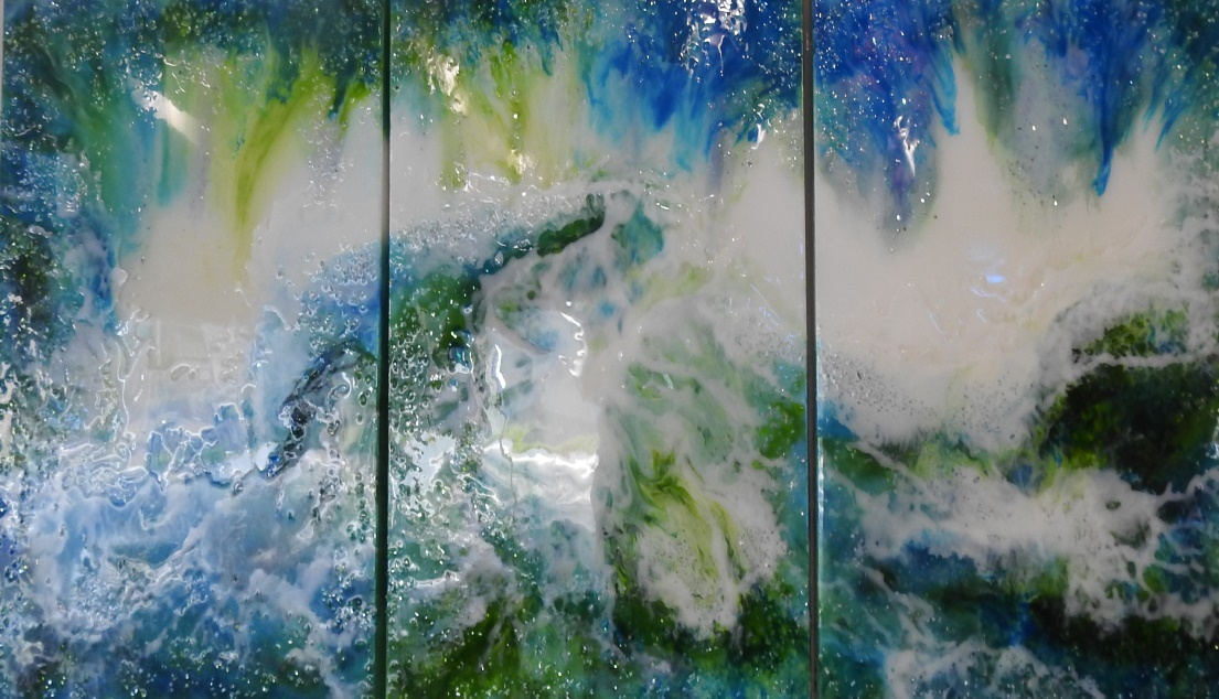No 1 - Great southern wave - Resin art
