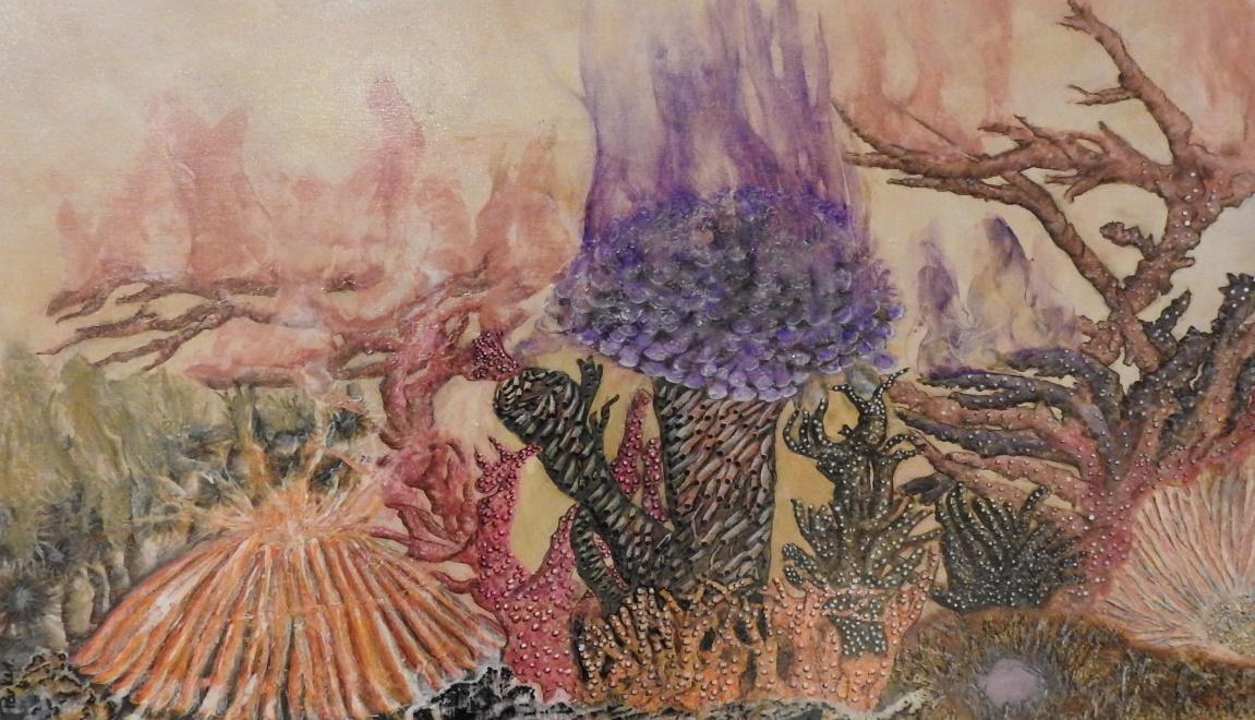 No 4 - Coralation - Resin art