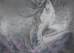 No 6 - Great White - Painting
