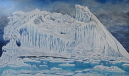 No 9 - Iceberg - Painting