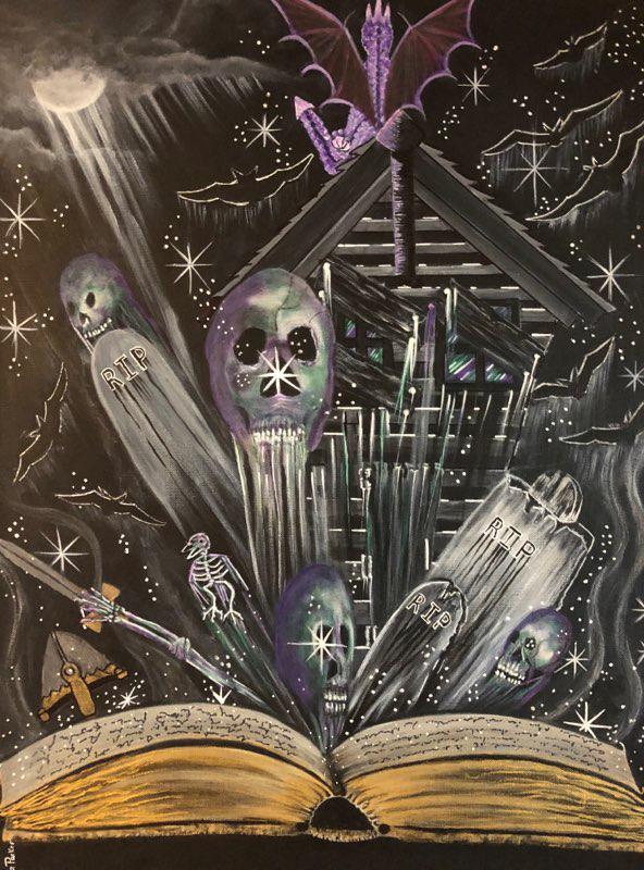Haunted Story - Art print