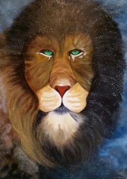 Lion - Art print