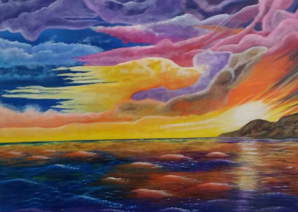 Tropical seas 3 - Art print