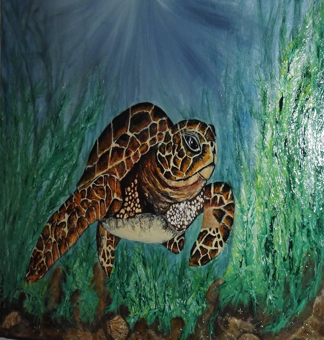 Turtle - Art print