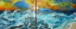 Ocean Symphony - Resin art