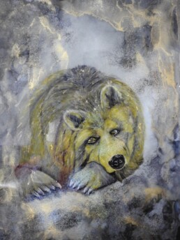 Inspiration - Bear - Resin art