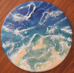 Tropical Shore 3D - Resin art
